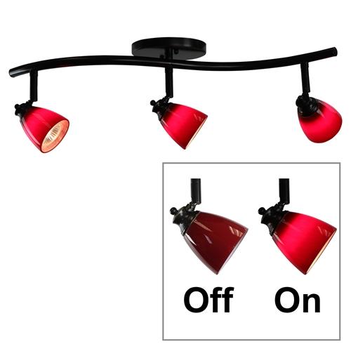 Light Bar Track Lighting Kit Fixed Spotlight Flush Mount Ceiling Straight