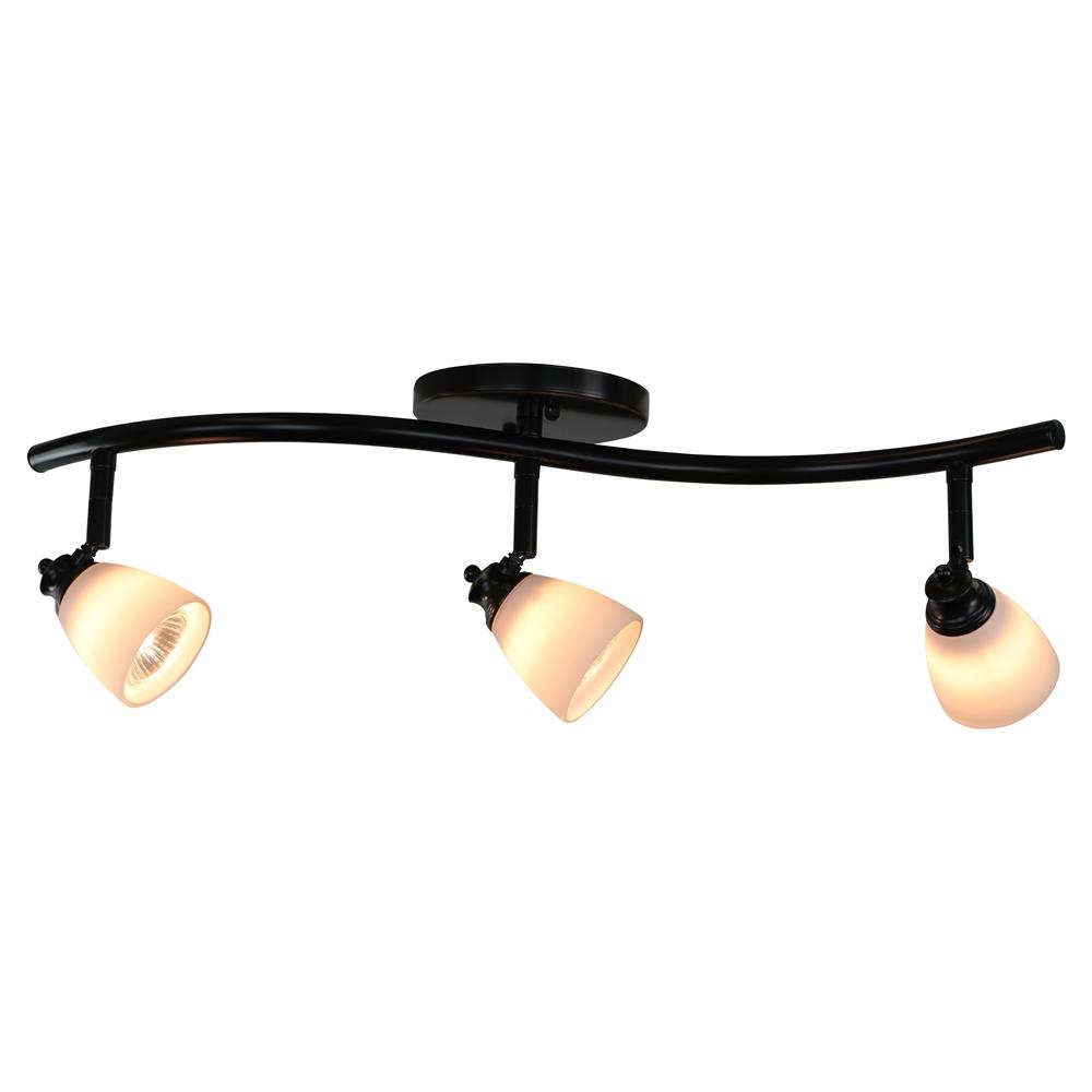 3 Light Bar Track Lighting Kit D268 23c Db Wh