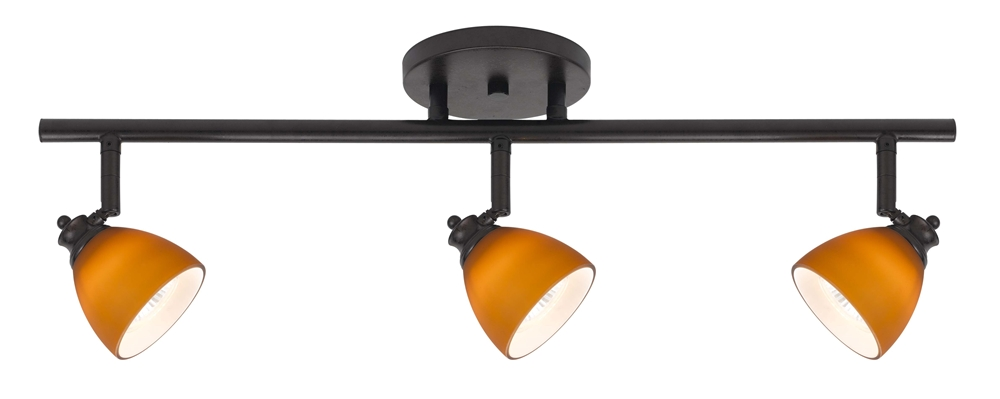 3 Light Fixed Track Lighting Kit D168 23 Am