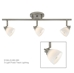 Fixed Track Lighting Kit Bar Flush Mount