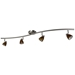 4-Light Bar Track Lighting Kit D268-44C-BS-AMS - D268-44C-BS-AMS