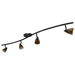4-Light Bar Track Lighting Kit D268-44C-DB-AMS - D268-44C-DB-AMS