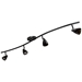 4-Light Bar Track Lighting Kit D268-44C-DB-BRNS - D268-44C-DB-BRNS