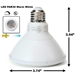 PAR30 13W 3K Warm White LED Light Bulb