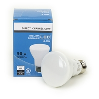 7.5W LED R20 Light Bulb 3000K Warm White  R20 LED Bulb, LED Bulbs, Light Bulbs, R20, LED,  Warm White, 3000K, LB-3004-3K