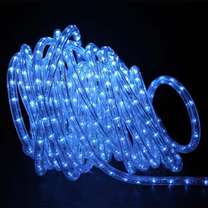 Blue led rope lights 50ft rlwl 50 blue direct lighting blue rope lights led 50 aloadofball Gallery