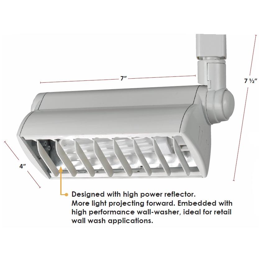 Compact Fluorescent Track Lighting 50079