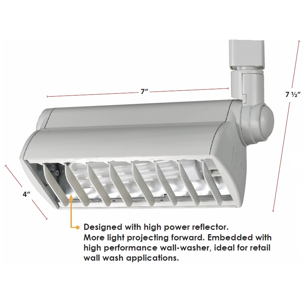 Compact Fluorescent Track Lighting - Track Lighting - 50079 - In ...