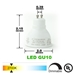 GU10 LED Track Lighting Kit 50155-3KIT-27K-WH - 50155-3KIT-27K-WH-50090