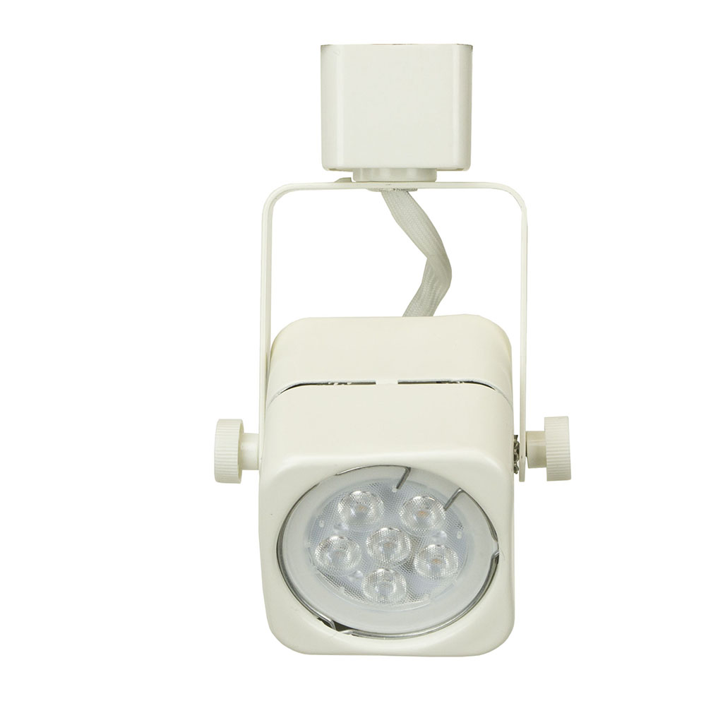 Led track lighting kit white finish gu10 75w 5k led bulb 50155 3kit gu10 led track lighting kit 50155 3kit 5k wh 50155 3kit aloadofball Images