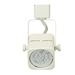 GU10 LED Track Lighting Fixture 50155 in White Front View