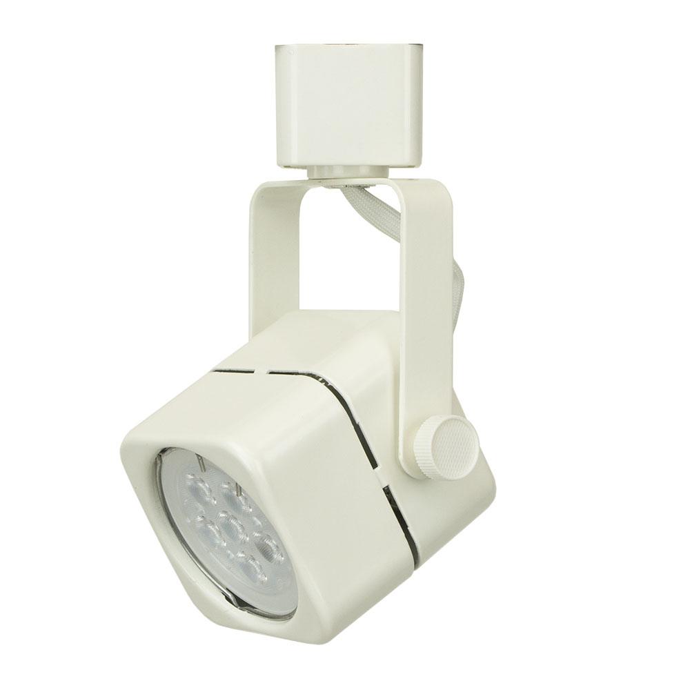 Led track lighting kit white finish gu10 75w 6k led bulb 50155 3kit gu10 led track lighting kit 50155 3kit 6k wh 50155 3kit aloadofball Images