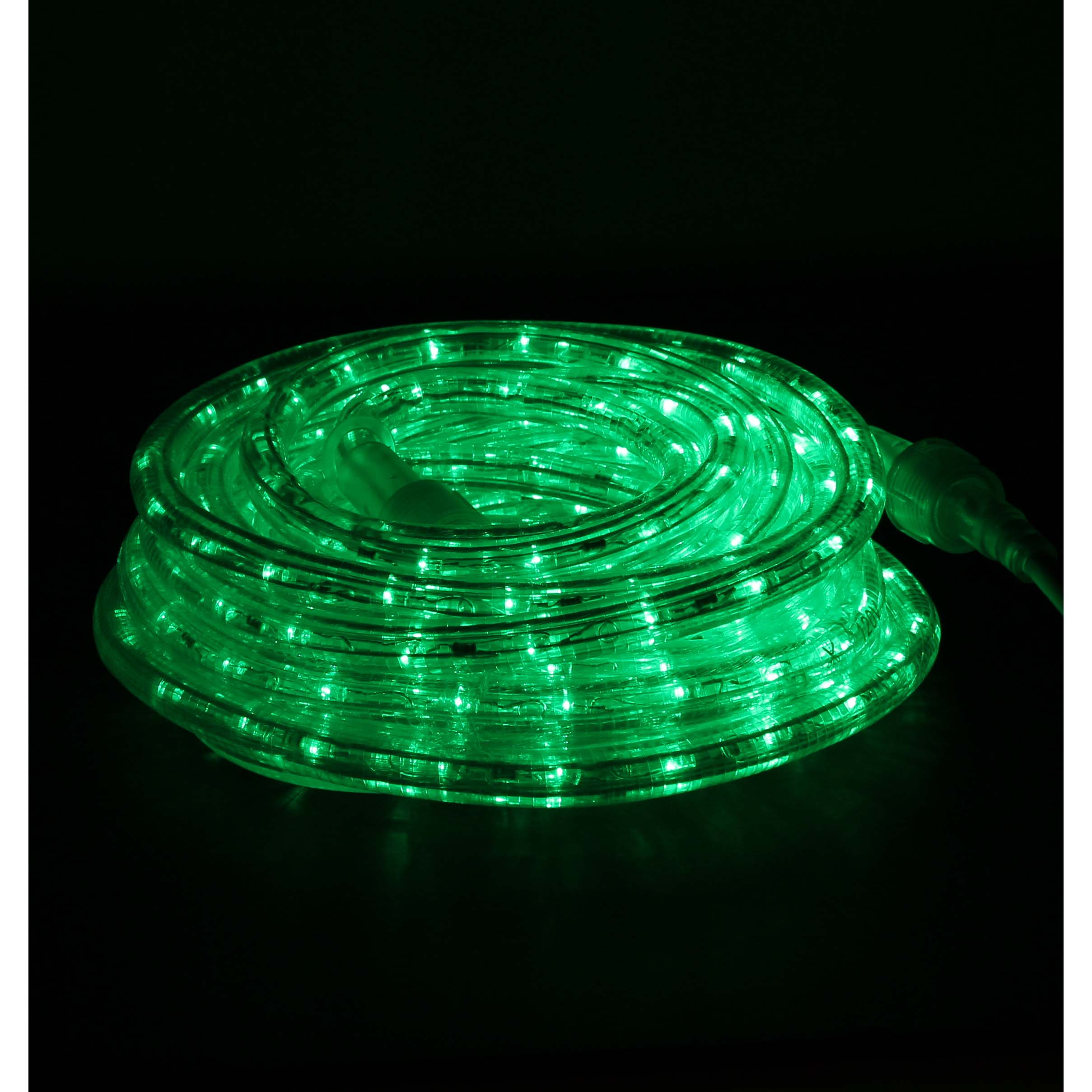 Green led rope lights 24ft rlwl 24 green direct lighting green rope lights led 24 mozeypictures Image collections