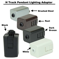 HT-50122 Pendant Lighting Track Adapter, Track Accessories, Line Voltage Pendant Adapter,HT-50122