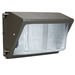 Integrated 42W LED Wall Pack Light Outdoor Industrial-Grade Dark Bronze - DL6NL70766