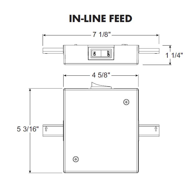 Shop juno lighting group trac lites current limiting in line feed juno trac lites current limiting in line feed rclf21 rclf21 wh cheapraybanclubmaster Gallery