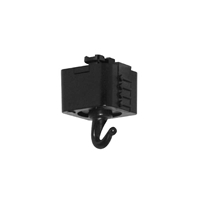 Juno Trac-Master Planter or Utility Hook T32 Black