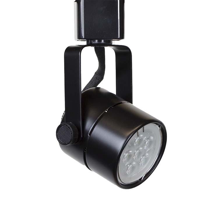 Led track lighting cylinder fixture 75w 50163led bk direct lighting led track lighting fixture 50154led bk aloadofball Choice Image