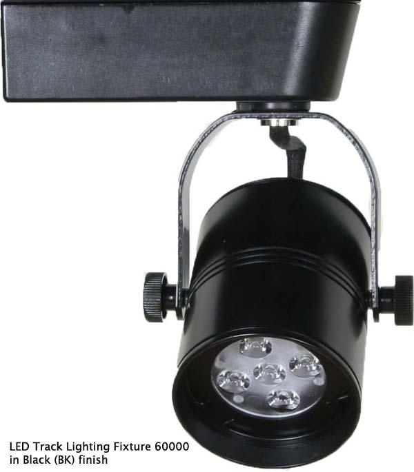 Shop led track lighting h or j type ul cul listed 60000 direct led track lighting fixture black aloadofball Choice Image