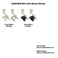 LED Track Lighting Fixture 8000-BH-WH-METAL  Dimmable Led Track Lighting, LED Track Lighting, LED Track Fixtures, LED Track Lights, Energy Saving, 8000-BH-WH