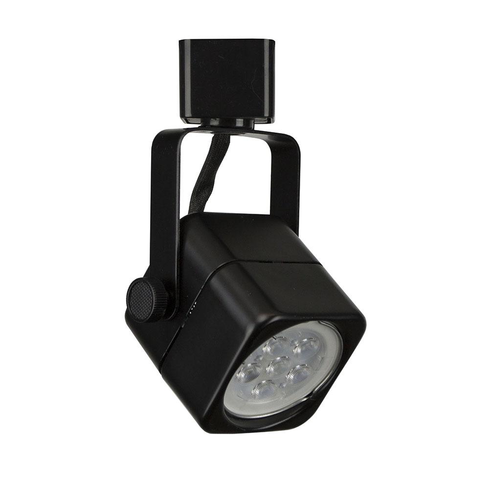 Led track lighting cylinder fixture 75w 50155led bk direct lighting led track lighting fixture with led bulb 50155led bk 50155led bk 3k aloadofball Images