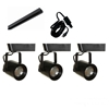 LED Track Lighting Kit HT-60088-3KIT-BK Black Dimmable LED Track Lighting, Track Lighting Kits, Track Lighting Systems, LED Track Lighting Kits, LED Track Lights, LED Track, LED Track Light, LED Luminaries, LED Spot Light, LED Track Head,HT-60088-LED-KIT