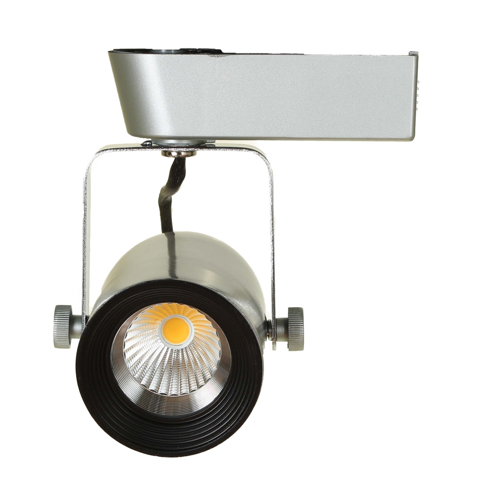Led track lighting kits led track lighting systems ht 60088 led track lighting kit ht 60088 brushed steel aloadofball Choice Image