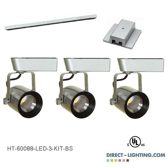 led track lighting kits led track lighting systems ht 60088 directional spot lights direct. Black Bedroom Furniture Sets. Home Design Ideas