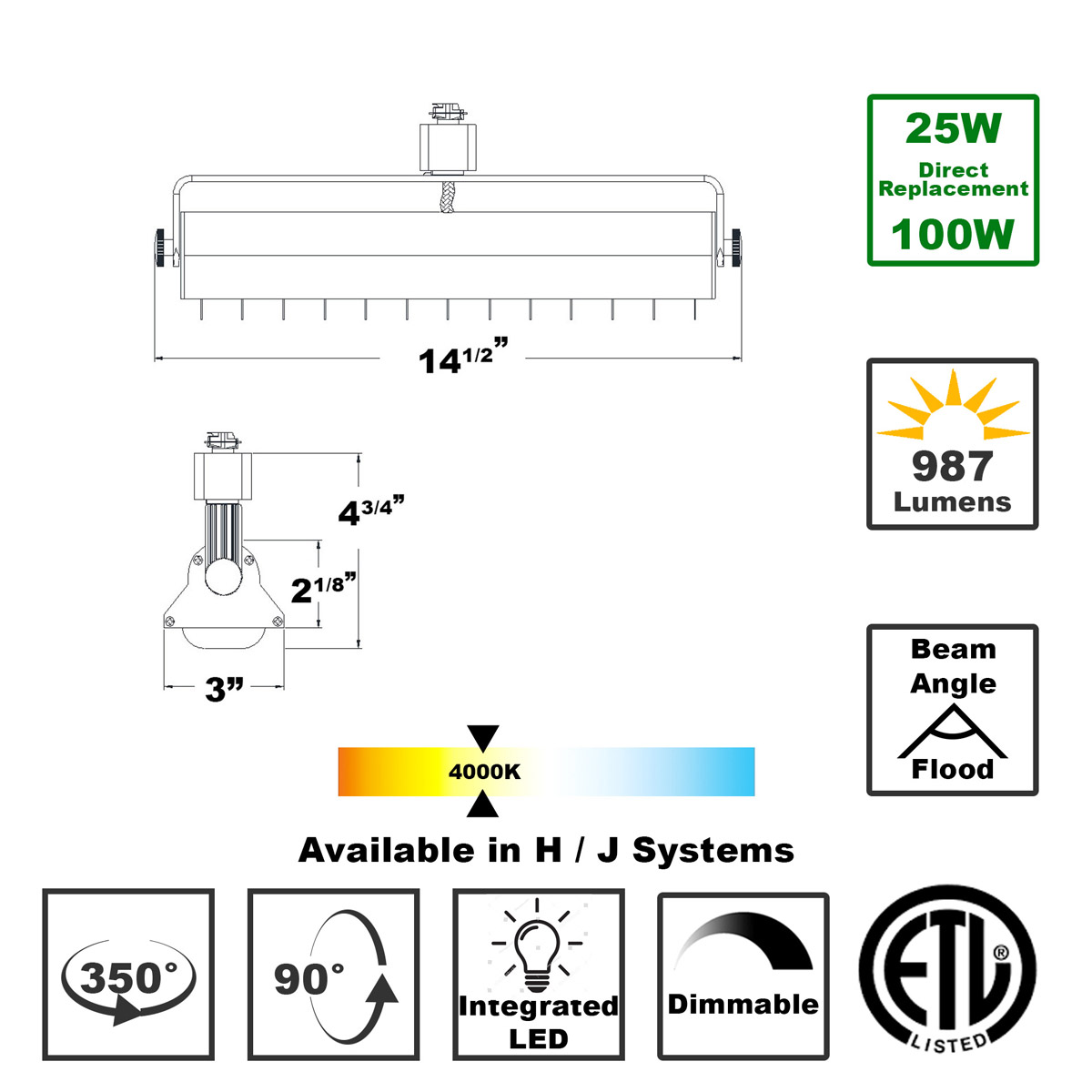 Shop LED Wall Washer Track Lighting Halo or Juno