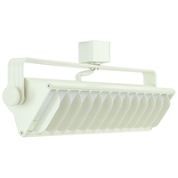 LED Wall Washer Track Lighting Fixture 60091-WH Wall Washer, Track Lighting, Wall Wash, Track Head, LED, Juno, Halo, 3000K, 4000K, Dimmable, LED Track Fixtures, LED Track Lights, Energy Saving, 60091, 60091-WH