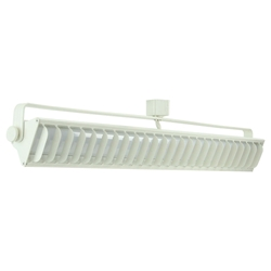 "26"" 55W LED Wall Wash Track Lighting White Finished - 60092-WH"