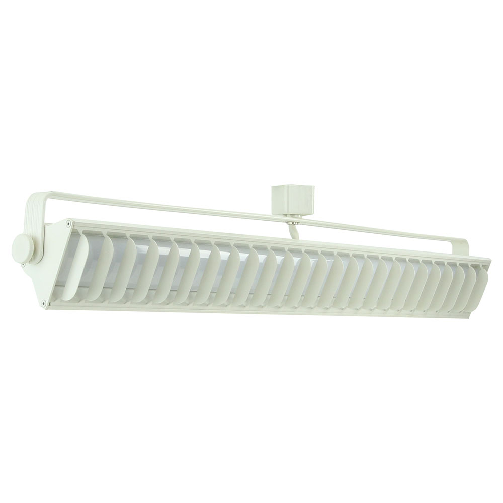 Shop led wall washer track lighting h or j typed etl listed 60092 led wall washer track lighting fixture 60092 60092 3k ht wh aloadofball Choice Image