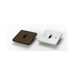 Line Voltage Square Monopoint Plate Adaptor 50102 - 50102-HT-WH