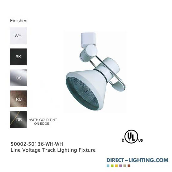 Line Voltage Track Lighting 50002-50136