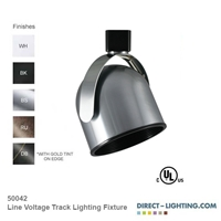 Line Voltage Track Lighting Fixture 50042