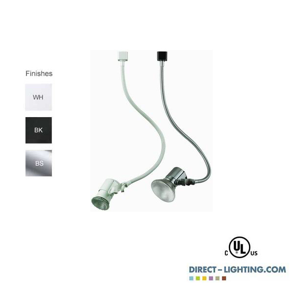 Buy gooseneck track lighting track head 75w direct direct lighting buy gooseneck track lighting track head 75w direct direct lighting 888628 8166 aloadofball Choice Image