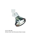 Line Voltage Track Lighting Fixture 50137 - 50137-BK-BK-HT