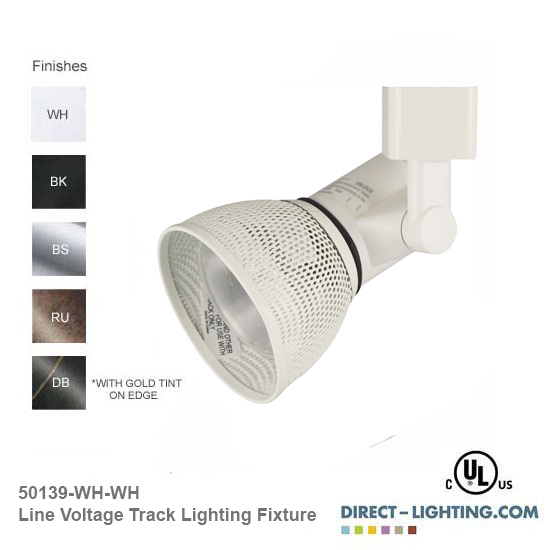 Line Voltage Track Lighting 50139
