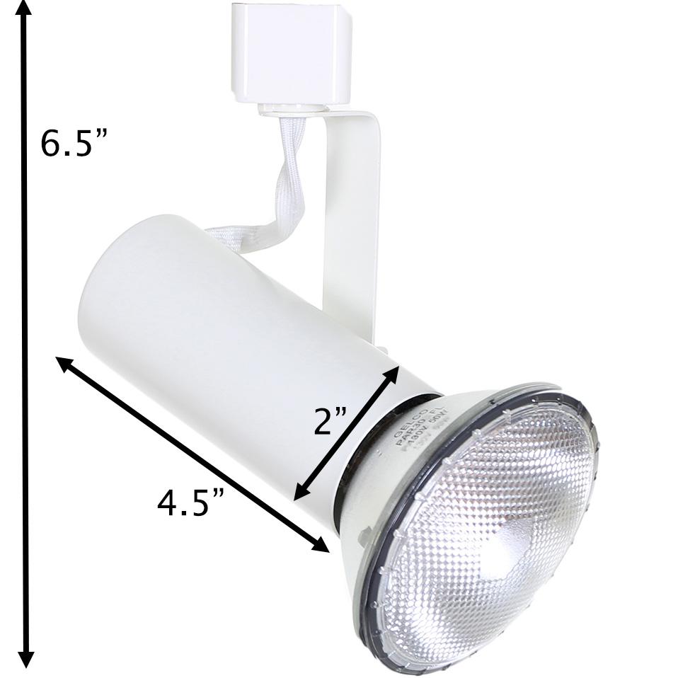Line Voltage Track Lighting Open Back Universal Head 50158 Direct ...