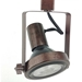 PAR30 Gimbal Ring Track Lighting Fixture 50160 Rust Side View