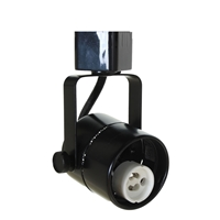 GU10 Track Lighting 50163 Black Socket View