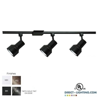 Line Voltage Track Lighting Kit  500093FC Track Lighting Fixture, Track Fixture, Trade Show Lighting, 500093FC