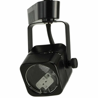 MR16 12V 50W Square Track Lighting Fixture 50012 Black (BK)
