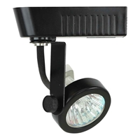 MR16 Gimbal Ring Low Voltage Track Lighting Fixture 50016 Black