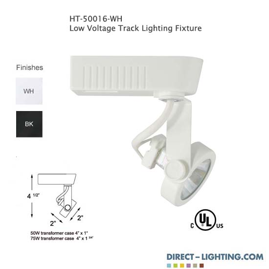 low voltage track lighting gimbal ring track head 50016 direct