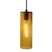 DPN-26-6-AMC Amber Cylinder Shaped Pendant Lighting