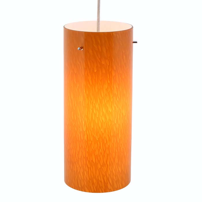 Mini cylinder glass pendant lighting dpn 31 6 amb direct lighting dpn 31 6 amb amber colored cylinder shaped glass pendant light aloadofball Gallery