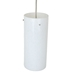 DPN-31-6-WH White Colored Cyliner Shaped Glass Pendant Light