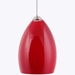 Mini Pendant Lighting DPNL-22-6-RED - DPNL-22-6-RED-DCPL-85-BS + BO-78