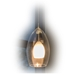 Double Layer Pendant Lighting DPNL-33-6-CLRWH - DPNL-33-6-CLRWH-DCPL-85-BS + BO-78